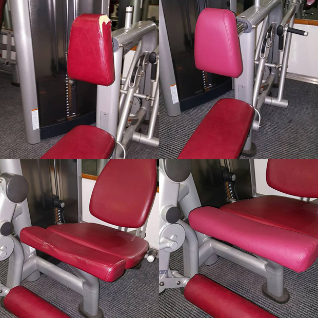 Gym Equipment Upholstery: Gym Upholstery Repairs Lancashire